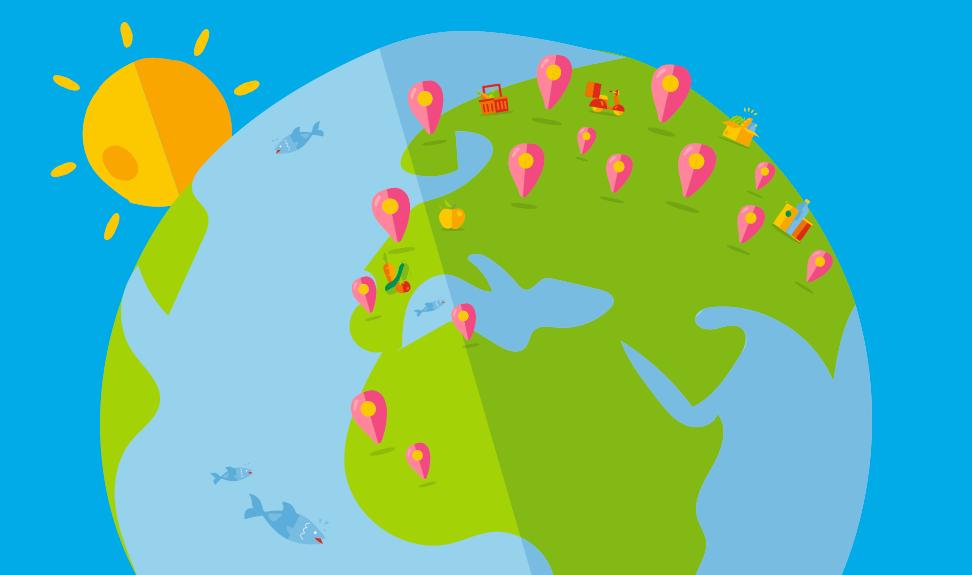 11º distribuidor alimentar mundial*, a Auchan Retail está presente em 15 países em 3 continentes.