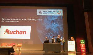 Auchan responde ao apelo das Nações Unidas para combate às alterações climáticas
