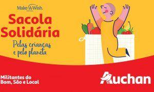 Auchan lança campanha solidária que apoia a produção nacional e realiza desejos de crianças!